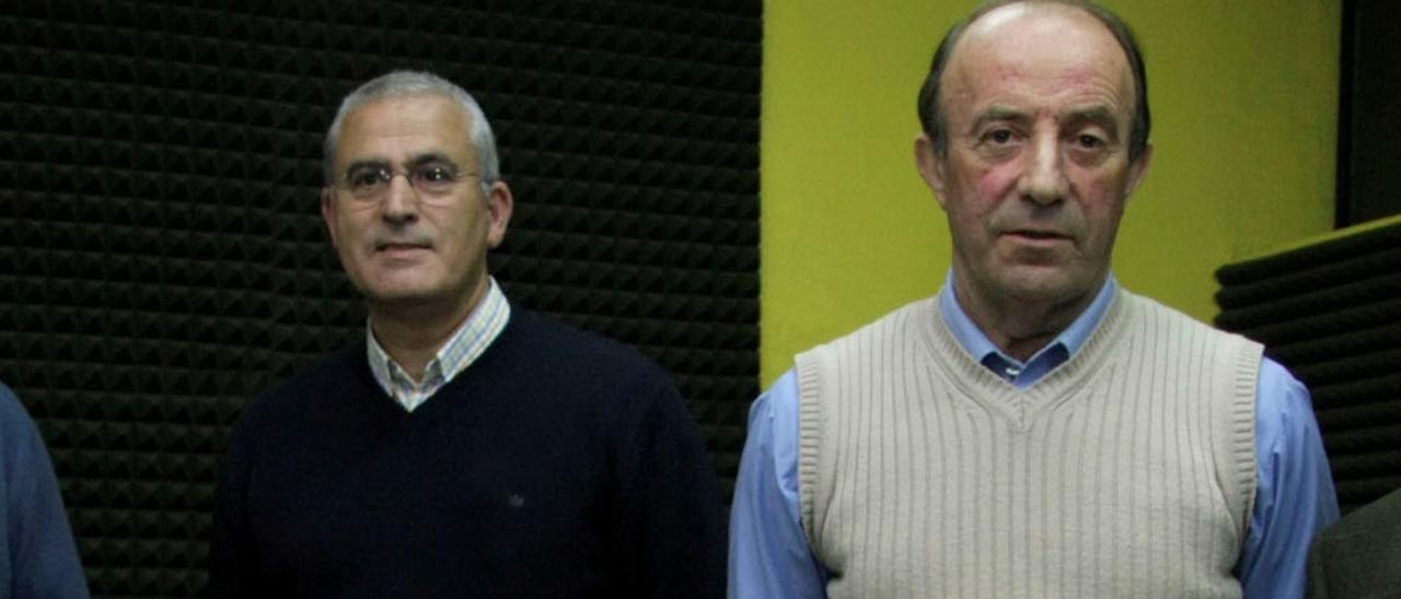Arsenio Fernández-Nespral y Luis Estrada.