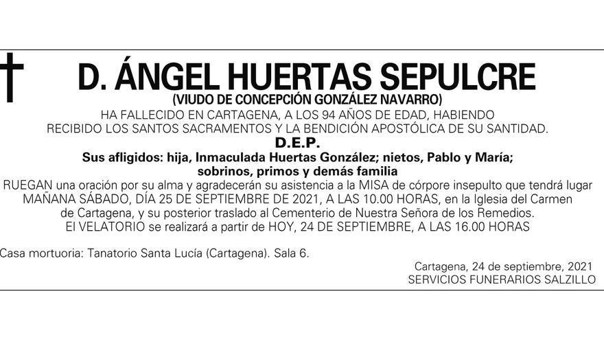 D. Ángel Huertas Sepulcre