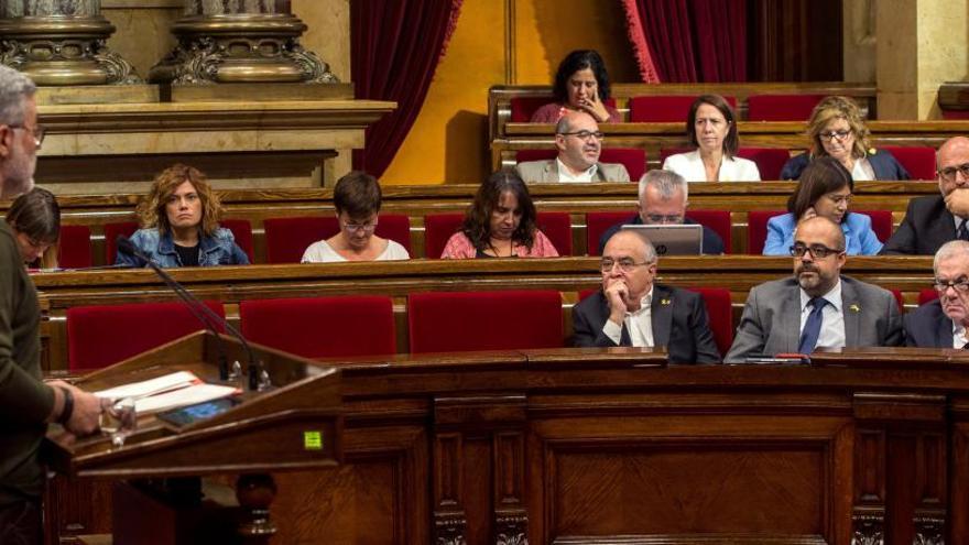 """La CUP vol instar el Govern a """"reafirmar la validesa"""" de les lleis del referèndum i de transitorietat"""