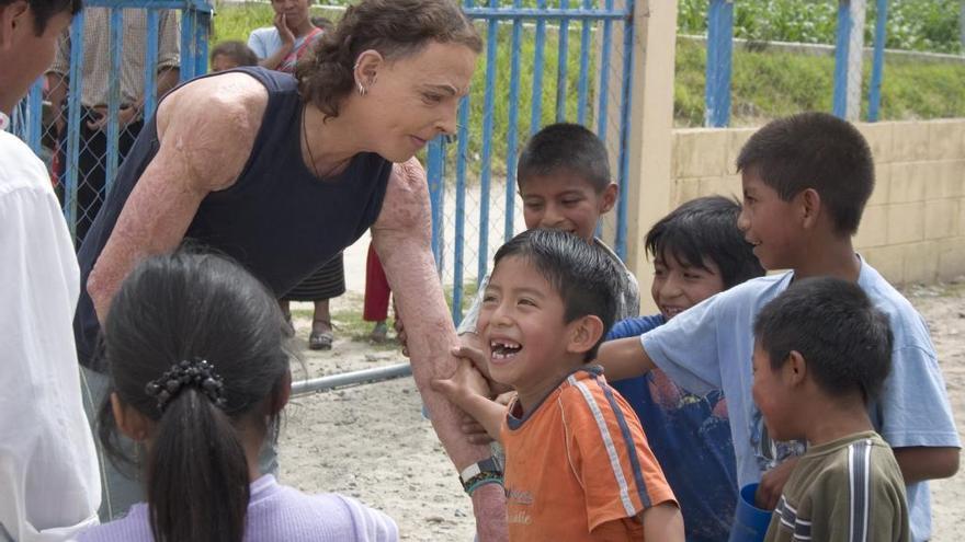 «Em quedo amb els somriures dels nens quan em venen a rebre a l'escola»
