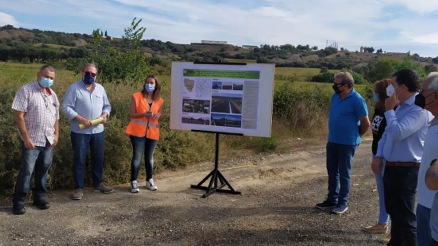 Finalizan las obras en la carretera A-1226 entre Fornillos y Berbegal, en Huesca