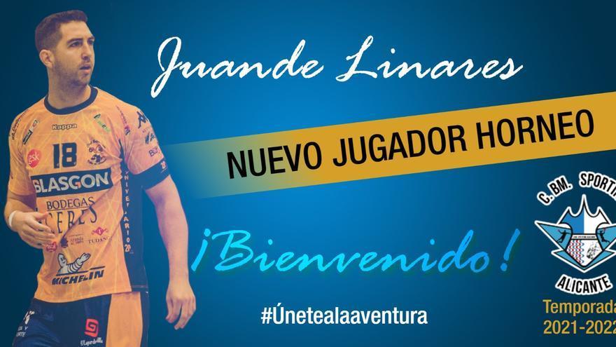 El Horneo Alicante se refuerza con el lateral derecho Juande Linares