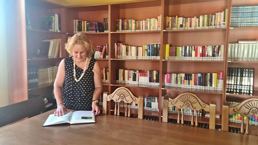 La biblioteca rural, antídoto contra la soledad en Benavente