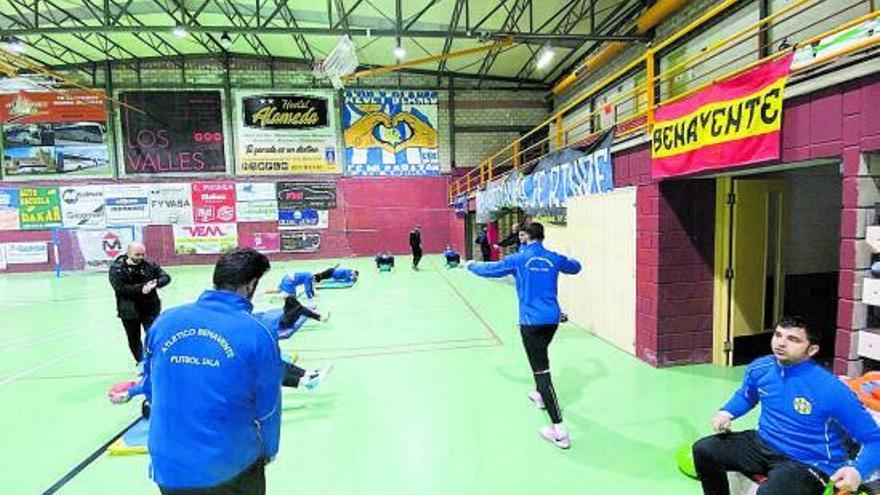 El Atlético Benavente vuelve al trabajo pensando en el Noia FS
