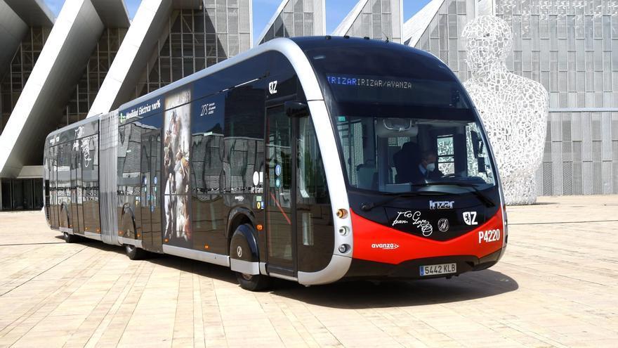 Zaragoza incorpora un nuevo modelo de autobús urbano