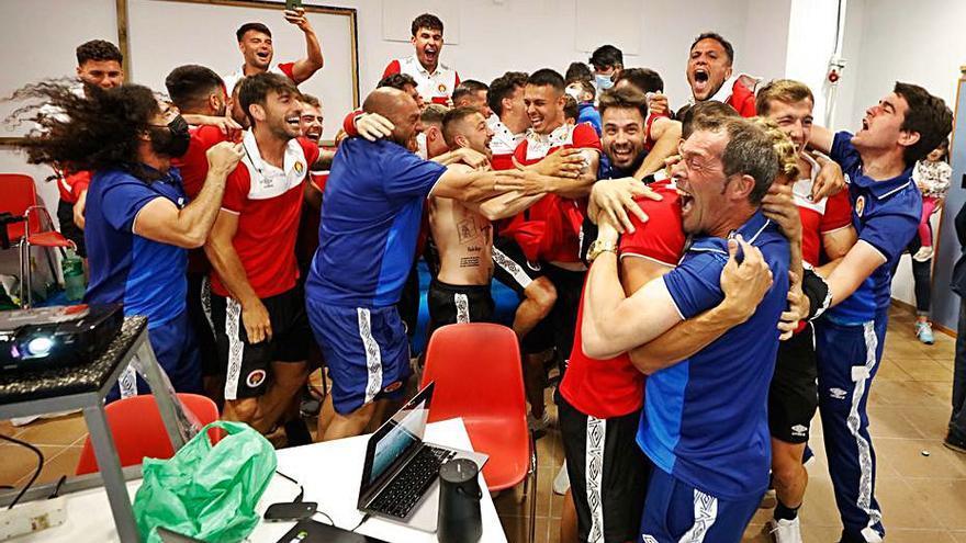 El CD Ibiza, a festejar su ascenso con una victoria en el derbi frente al Sant Jordi
