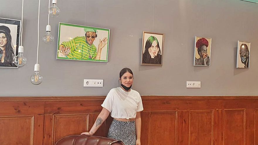 Retratos por Vanesa Rodal en el Lombok