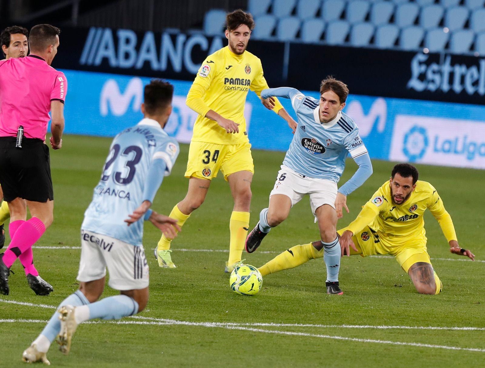 El Celta-Villarreal, en imágenes