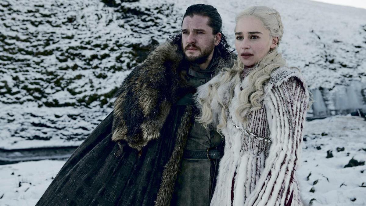 John Snow y Daenerys Targaryen