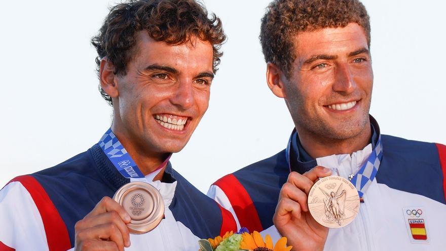 Vigo abrocha la tercera medalla olímpica de su historia gracias a Nico Rodríguez