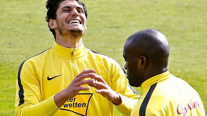 Cristian Salvador deja el Sporting para ir al Huesca