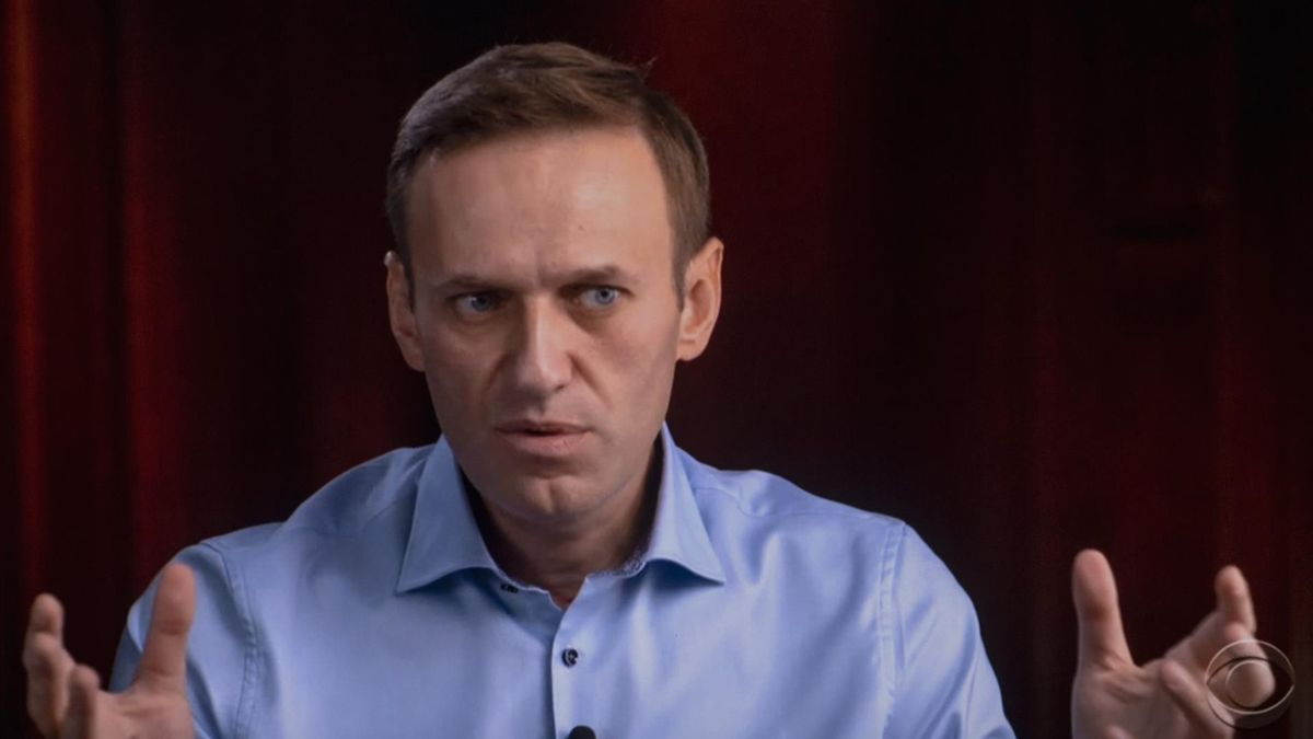 El opositor apresado, Alexéi Navalni.