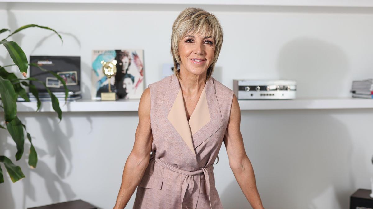 La cantante Ana Torroja, estrenó recientemente su disco 'Mil razones'.