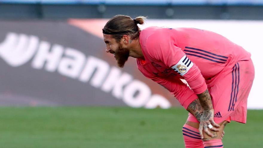 Sergio Ramos se lesiona a una semana del 'Clásico'