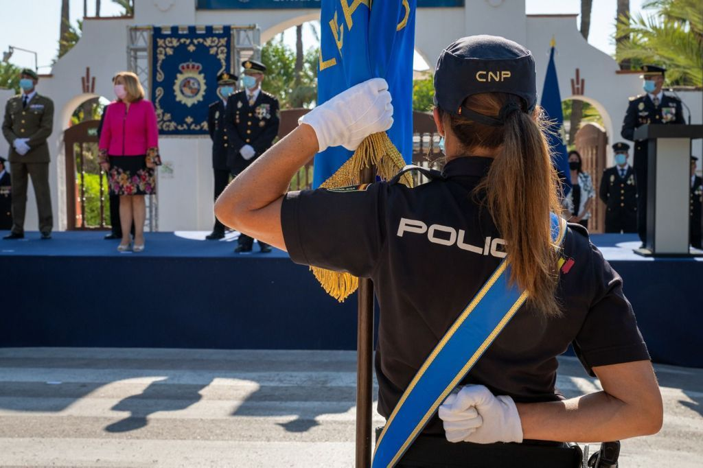 Así fue el acto de jura de 205 nuevos agentes de la Policía Nacional en Elche