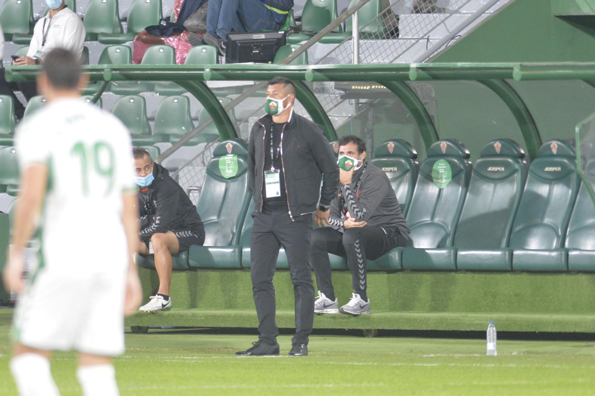 Elche CF - Valencia: Las imágenes del partido