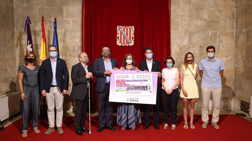 La ONCE dedica un cupón al 125 aniversario de la Federación Balear de Ciclismo