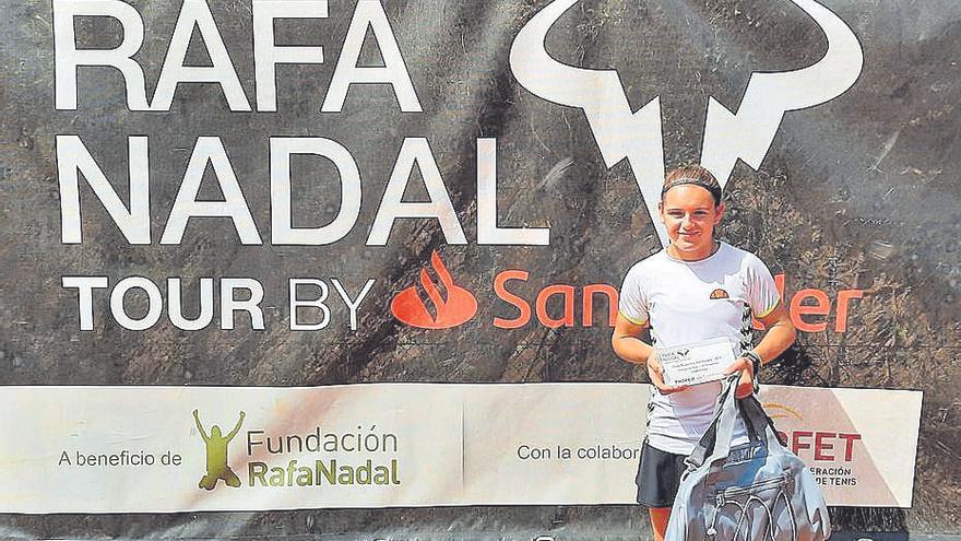 Cristina Díaz conquista el Rafa Nadal Tour Sub-16 de Valldoreix