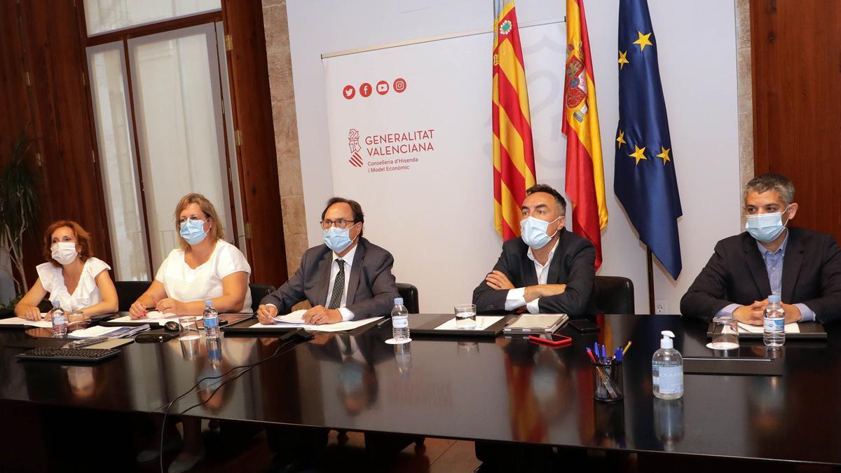 El conseller de Economía Vicent Soler participa en la Conferencia Sectorial del Plan de Recuperación