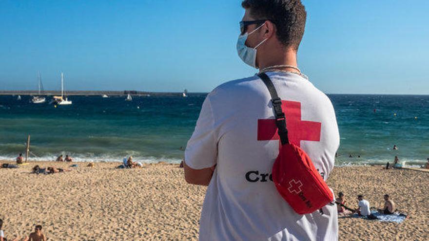 La Creu Roja ha dut a terme més de 15.000 atencions durant la temporada d'estiu