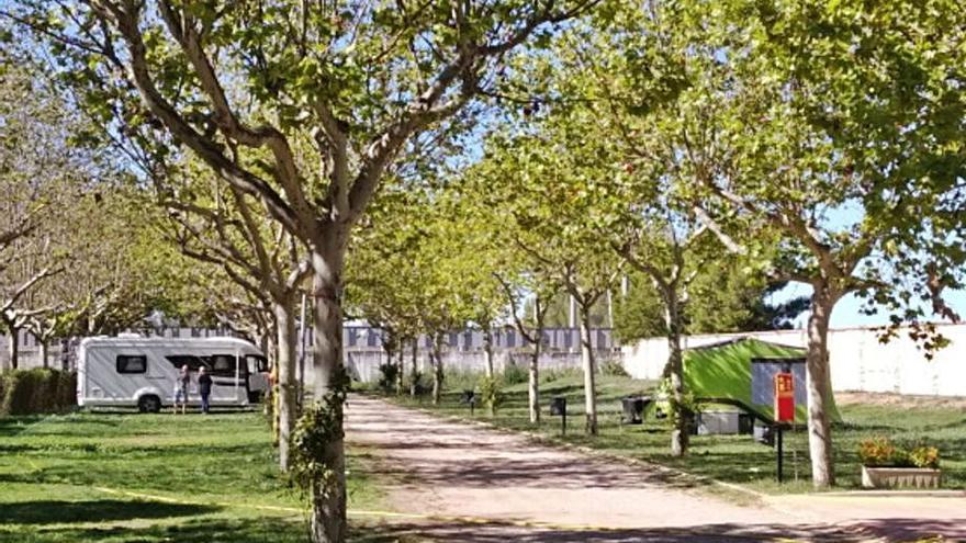El cámping San Jorge de Huesca abre hasta el 5 de septiembre