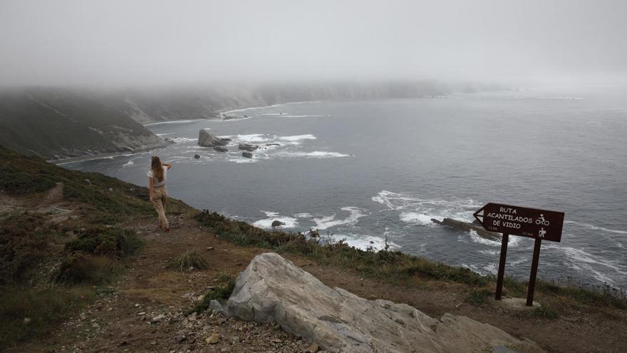 Rutas por Asturias: los acantilados del Cabo Vidio en Cudillero
