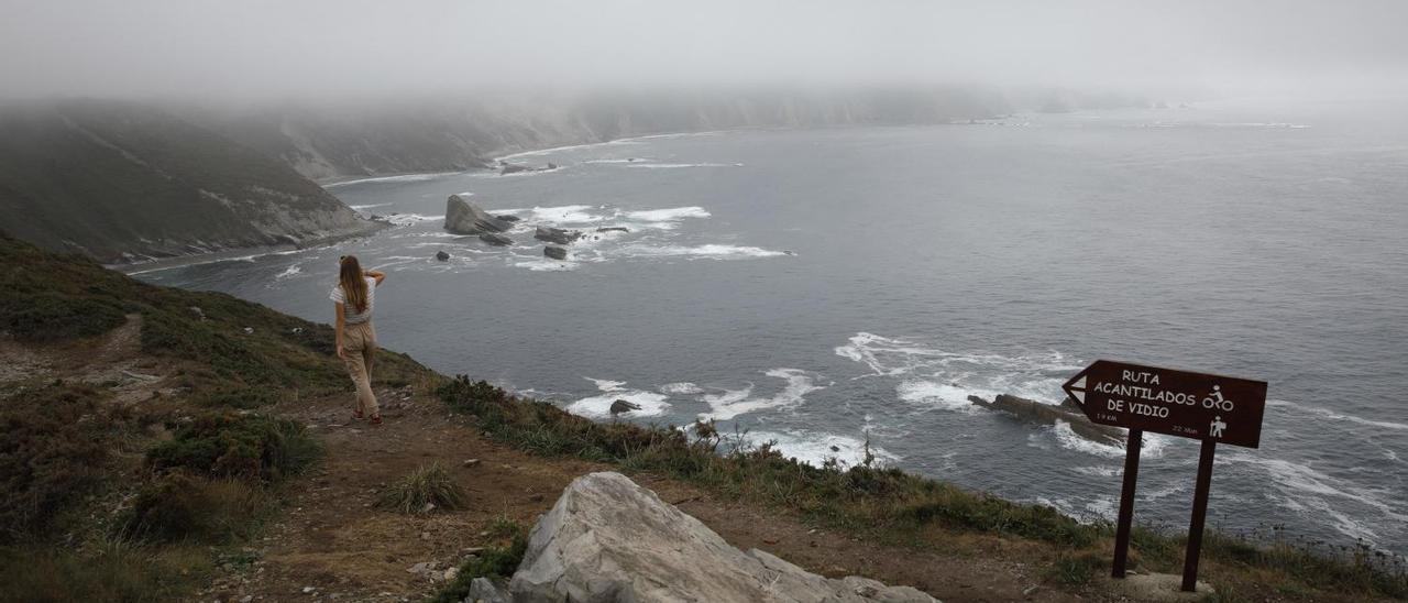 Los acantilados del Cabo Vidio en Cudillero