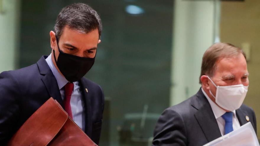 Sánchez dice que no aceptará la exigencia de unanimidad sobre el fondo de la UE
