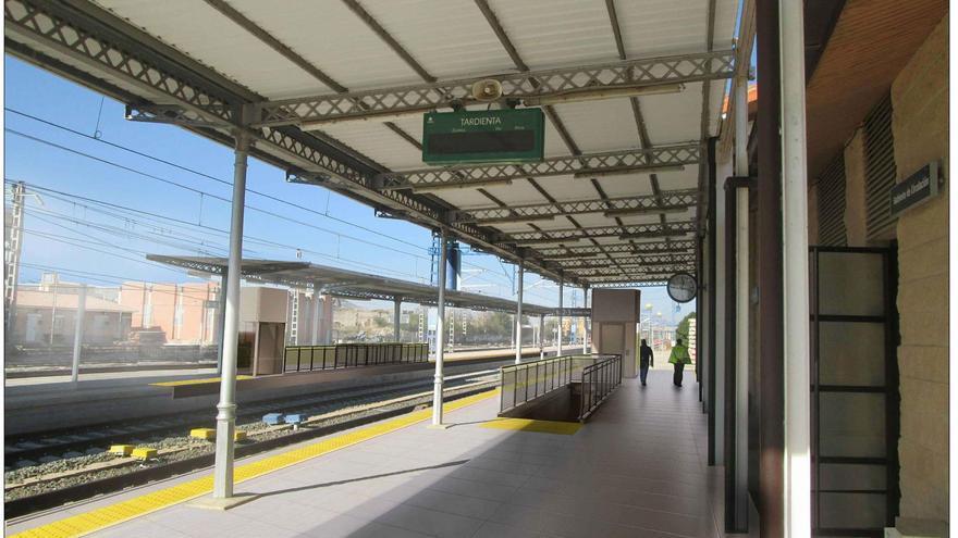 Adif adjudica las obras de mejora de la accesibilidad en la estación de Tardienta por cerca de 2,8 millones