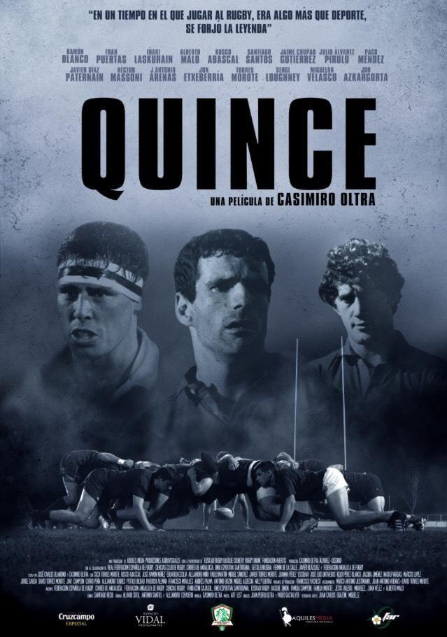 "Cartel del documental ""Quince""."