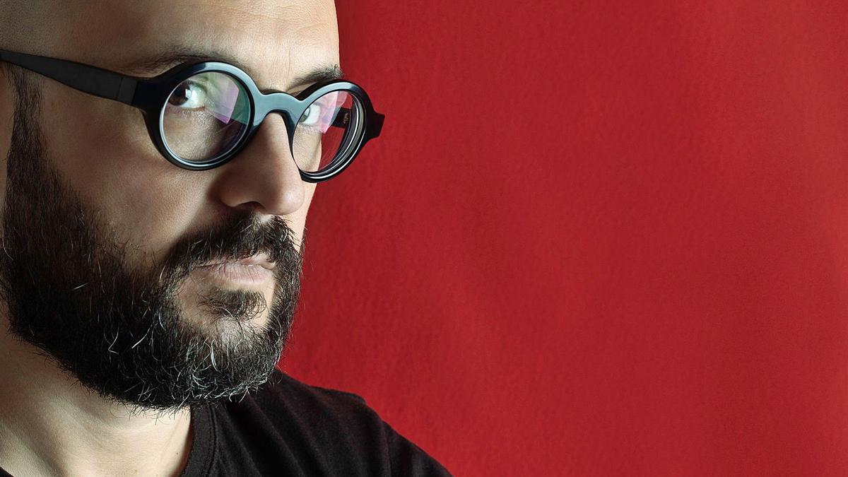 Jordi Colonques va guanyar el Premi de Narrativa Antoni Bru 2020.   HELENA OLCINA AMIGO