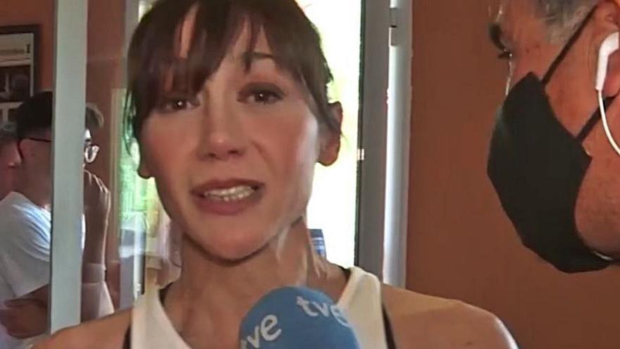 """May Iglesias: «Es una medalla muy bien ganada y muy trabajada"""""""