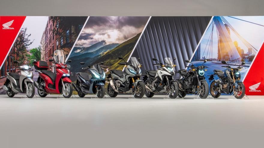 Honda anuncia siete novedades para su gama 2021