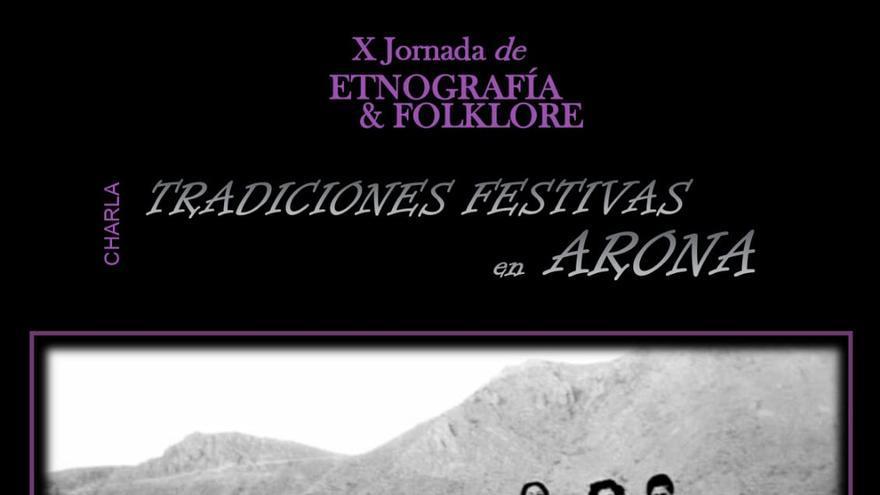 Charla Tradiciones Festivas en Arona de Marcos Brito
