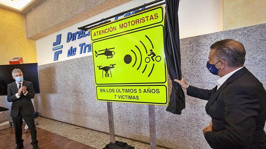Tráfico identifica los 18 tramos más peligrosos para motoristas