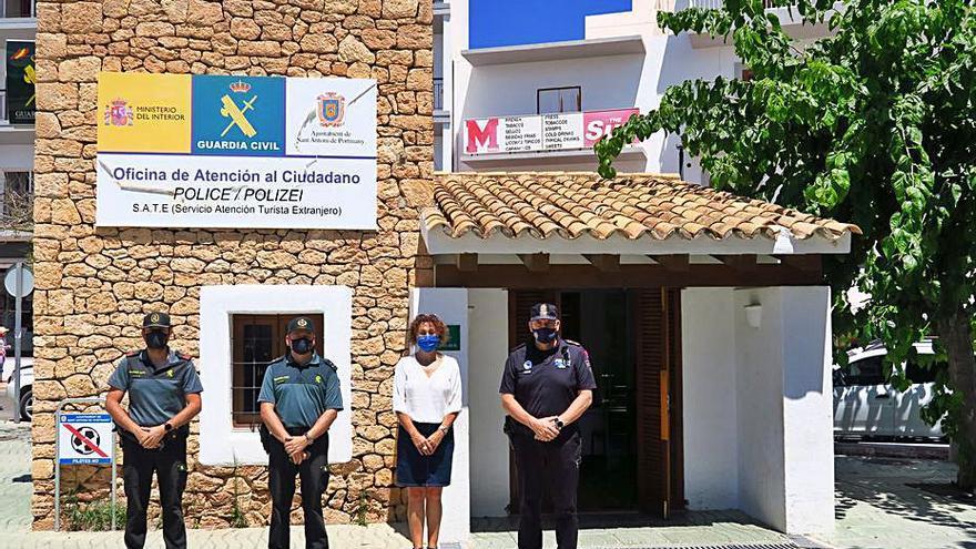 El Servicio de Atención al Turista de Sant Antoni ya está operativo