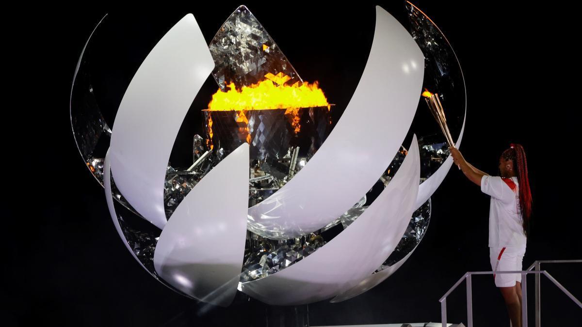 La tenista japonesa Naomi Osaka encén el peveter