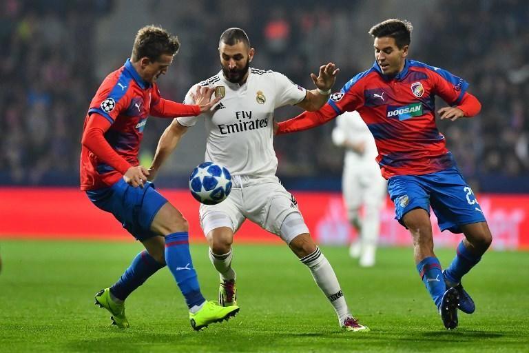 Champions League: Viktoria Pilsen - Real Madrid