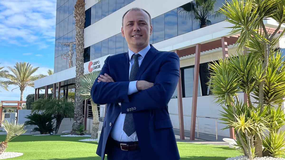 Demetrio Lajarín, director de Unidad de Transporte de Grupo Caliche.
