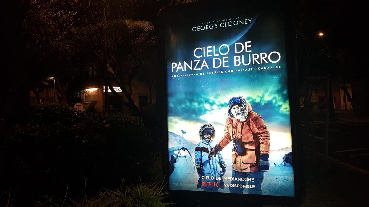 'Cielo de panza de burro', la película de George Clooney hecha con paisajes canarios