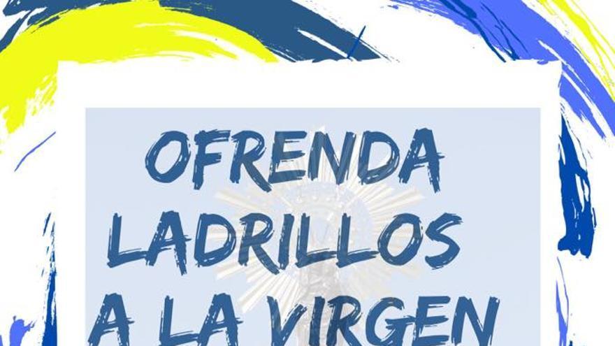 Las familias de los alumnos del colegio Ana María Navales ofrendarán 'ladrillos' a la virgen en vez de flores