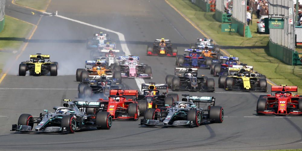 Imágenes del Gran Premio de Australia de Fórmula 1