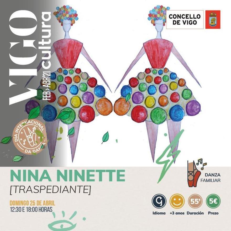 """Cartel del espectáculo """"Nina Ninette"""""""