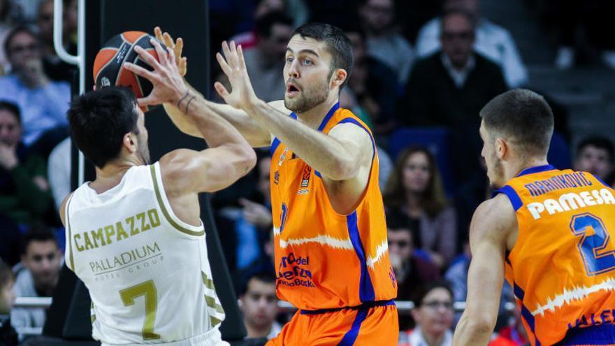 El Real Madrid vence al Valencia con marcador NBA