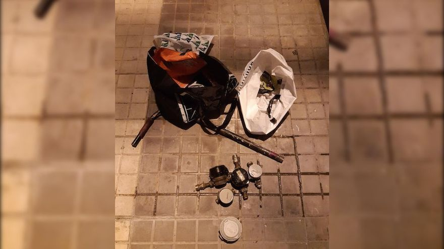 La Policía Local de Elche detiene a un hombre por robar siete contadores de agua