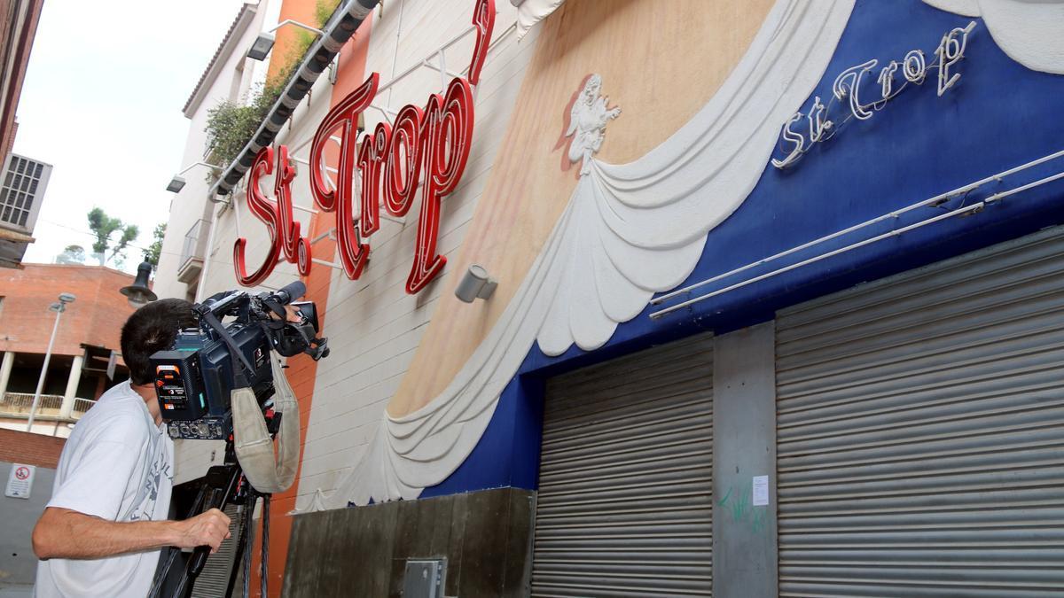 Exterior de la discoteca St. Trop de Lloret de Mar, en una imatge d'arxiu
