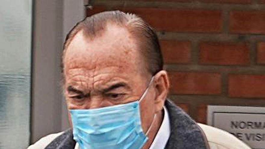 Fernández Tapias acude al médico