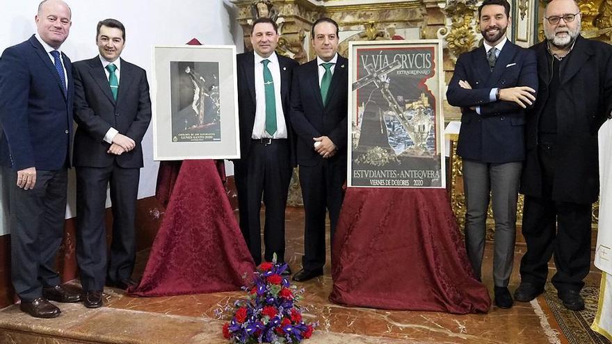 Antequera ya tiene carteles para el Lunes Santo y el V Vía Crucis de los Estudiantes