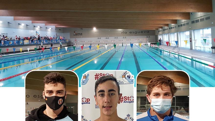 Los benaventanos Javier Huerga e Iván Romero preparan con el equipo nacional el Campeonato de Europa de Salvamento y Socorrismo