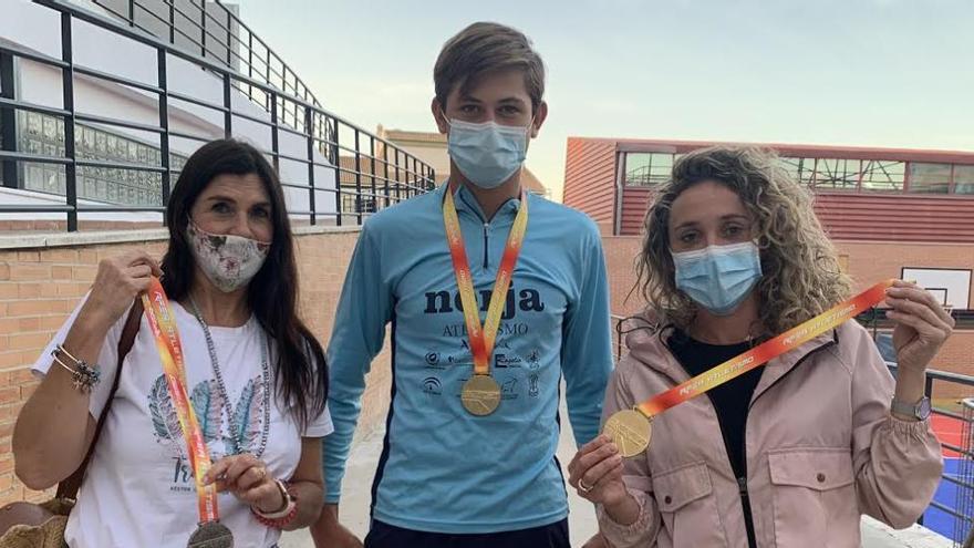 Alhaurín de la Torre felicita a Salvador García, subcampeón andaluz de lanzamiento de peso